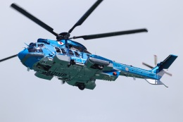 KANE0722さんが、那覇空港で撮影した沖縄県警察 EC225LP Super Puma Mk2+の航空フォト(飛行機 写真・画像)