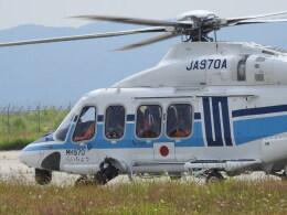 musaeru25cさんが、能登空港で撮影した海上保安庁 AW139の航空フォト(飛行機 写真・画像)