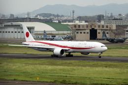 planetさんが、名古屋飛行場で撮影した航空自衛隊 777-3SB/ERの航空フォト(飛行機 写真・画像)