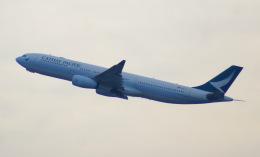 KAZKAZさんが、成田国際空港で撮影したキャセイパシフィック航空 A330-343Xの航空フォト(飛行機 写真・画像)
