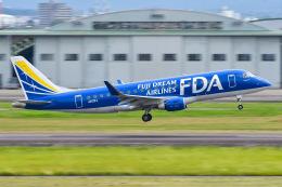 ROSENTHALさんが、名古屋飛行場で撮影したフジドリームエアラインズ ERJ-170-200 (ERJ-175STD)の航空フォト(飛行機 写真・画像)