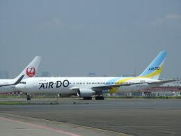 musaeru25cさんが、羽田空港で撮影したAIR DO 767-381の航空フォト(飛行機 写真・画像)