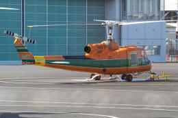Tatsuya.Kさんが、東京ヘリポートで撮影したアカギヘリコプター 204B-2(FujiBell)の航空フォト(飛行機 写真・画像)