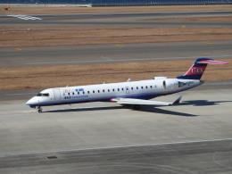 musaeru25cさんが、中部国際空港で撮影したアイベックスエアラインズ CL-600-2C10(CRJ-702)の航空フォト(飛行機 写真・画像)