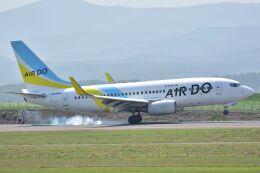 ながえいさんが、旭川空港で撮影したAIR DO 737-781の航空フォト(飛行機 写真・画像)