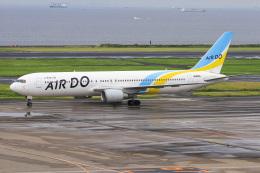 ぐっちーさんが、羽田空港で撮影したAIR DO 767-381の航空フォト(飛行機 写真・画像)