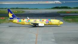 こじゆきさんが、那覇空港で撮影したスカイマーク 737-8ALの航空フォト(飛行機 写真・画像)