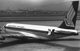 チャーリーマイクさんが、伊丹空港で撮影したシンガポール航空 707-324Cの航空フォト(飛行機 写真・画像)