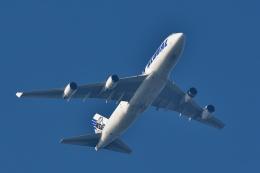 NFファンさんが、厚木飛行場で撮影したウエスタン・グローバル・エアラインズ 747-446(BCF)の航空フォト(飛行機 写真・画像)
