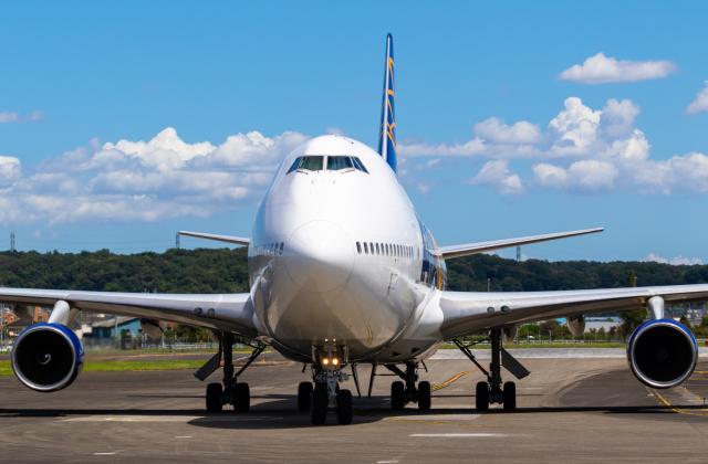 航空フォト:N480MC アトラス航空 747-400