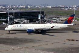 sin747さんが、羽田空港で撮影したデルタ航空 A350-941の航空フォト(飛行機 写真・画像)