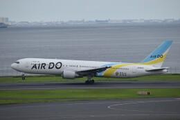 PIRORINGさんが、羽田空港で撮影したAIR DO 767-33A/ERの航空フォト(飛行機 写真・画像)