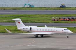 サンドバンクさんが、羽田空港で撮影したバーレーン王室航空 G-IV Gulfstream IV-SPの航空フォト(飛行機 写真・画像)