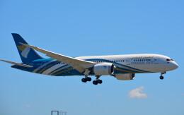 taiki17さんが、関西国際空港で撮影したオマーン航空 787-8 Dreamlinerの航空フォト(飛行機 写真・画像)