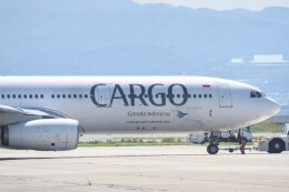 M.Tさんが、関西国際空港で撮影したガルーダ・インドネシア航空 A330-341の航空フォト(飛行機 写真・画像)