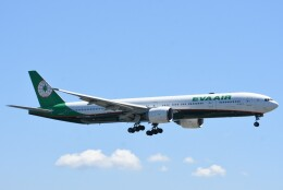 M.Tさんが、関西国際空港で撮影したエバー航空 777-3AL/ERの航空フォト(飛行機 写真・画像)