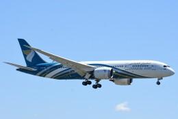 M.Tさんが、関西国際空港で撮影したオマーン航空 787-8 Dreamlinerの航空フォト(飛行機 写真・画像)