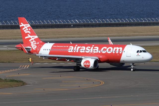 航空フォト:JA03DJ エアアジア・ジャパン A320