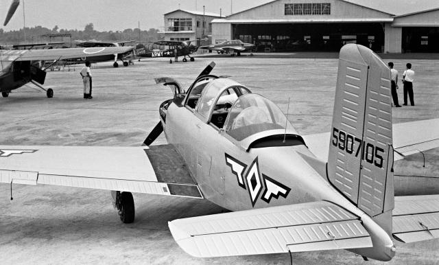 Y.Todaさんが、宇都宮飛行場で撮影したフィリピン空軍 T-34A Mentorの航空フォト(飛行機 写真・画像)