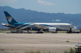 naveさんが、関西国際空港で撮影したオマーン航空 787-8 Dreamlinerの航空フォト(飛行機 写真・画像)