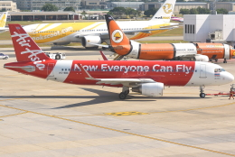 jun☆さんが、ドンムアン空港で撮影したタイ・エアアジア A320-216の航空フォト(飛行機 写真・画像)