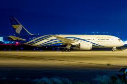 しろのふさんが、関西国際空港で撮影したオマーン航空 787-8 Dreamlinerの航空フォト(飛行機 写真・画像)
