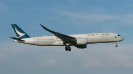 Garnet Worldさんが、成田国際空港で撮影したキャセイパシフィック航空 A350-941の航空フォト(飛行機 写真・画像)