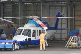 TUILANYAKSUさんが、浦安ヘリポートで撮影したセコム S-76Dの航空フォト(飛行機 写真・画像)