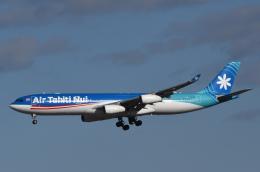 チャーリーマイクさんが、成田国際空港で撮影したエア・タヒチ・ヌイ A340-313Xの航空フォト(飛行機 写真・画像)
