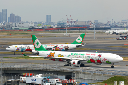 SGR RT 改さんが、羽田空港で撮影したエバー航空 A330-302Xの航空フォト(飛行機 写真・画像)