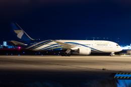 ABCcargoさんが、関西国際空港で撮影したオマーン航空 787-8 Dreamlinerの航空フォト(飛行機 写真・画像)