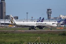 Love NRTさんが、成田国際空港で撮影したスターラックス・エアラインズ A321-252NXの航空フォト(飛行機 写真・画像)