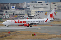 Tatsuya.Kさんが、福岡空港で撮影したタイ・ライオン・エア 737-8GPの航空フォト(飛行機 写真・画像)