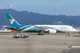青春の1ページさんが、関西国際空港で撮影したオマーン航空 787-8 Dreamlinerの航空フォト(飛行機 写真・画像)