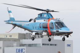ゴンタさんが、東京ヘリポートで撮影した警視庁 A109E Powerの航空フォト(飛行機 写真・画像)
