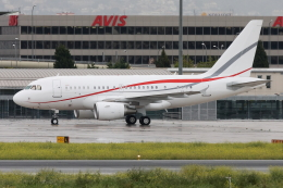 kinsanさんが、マラガ空港で撮影したチロリアン・ジェット・サービス A318-112 CJ Eliteの航空フォト(飛行機 写真・画像)