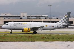 kinsanさんが、マラガ空港で撮影したブエリング航空 A320-214の航空フォト(飛行機 写真・画像)
