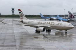kinsanさんが、ブリュッセル国際空港で撮影したエティハド航空 A330-243の航空フォト(飛行機 写真・画像)