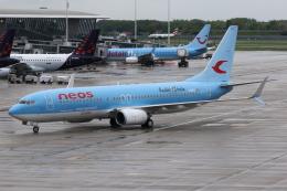 kinsanさんが、ブリュッセル国際空港で撮影したネオス 737-86Nの航空フォト(飛行機 写真・画像)