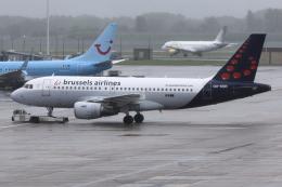 kinsanさんが、ブリュッセル国際空港で撮影したブリュッセル航空 A319-111の航空フォト(飛行機 写真・画像)