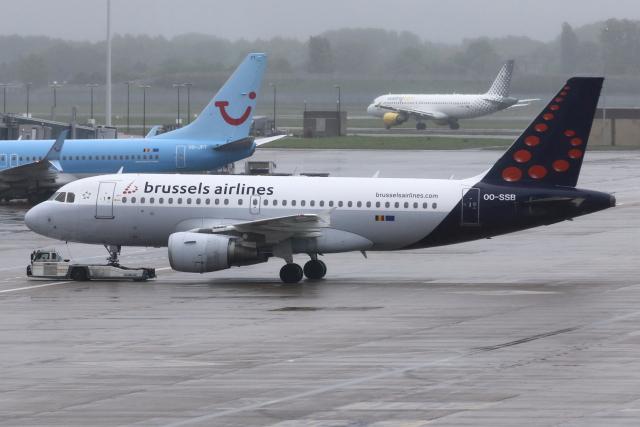 ブリュッセル国際空港 - Brussels Airport [BRU/EBBR]で撮影されたブリュッセル国際空港 - Brussels Airport [BRU/EBBR]の航空機写真(フォト・画像)