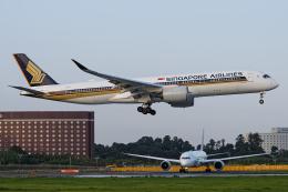 kina309さんが、成田国際空港で撮影したシンガポール航空 A350-941の航空フォト(飛行機 写真・画像)