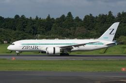 HEATHROWさんが、成田国際空港で撮影したZIPAIR 787-8 Dreamlinerの航空フォト(飛行機 写真・画像)