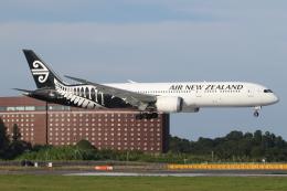 ゴンタさんが、成田国際空港で撮影したニュージーランド航空 787-9の航空フォト(飛行機 写真・画像)
