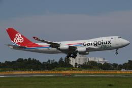 ゴンタさんが、成田国際空港で撮影したカーゴルクス・イタリア 747-4R7F/SCDの航空フォト(飛行機 写真・画像)