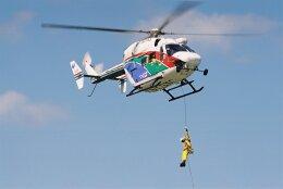 ゴンタさんが、つくばヘリポートで撮影した茨城県防災航空隊 BK117B-2の航空フォト(飛行機 写真・画像)