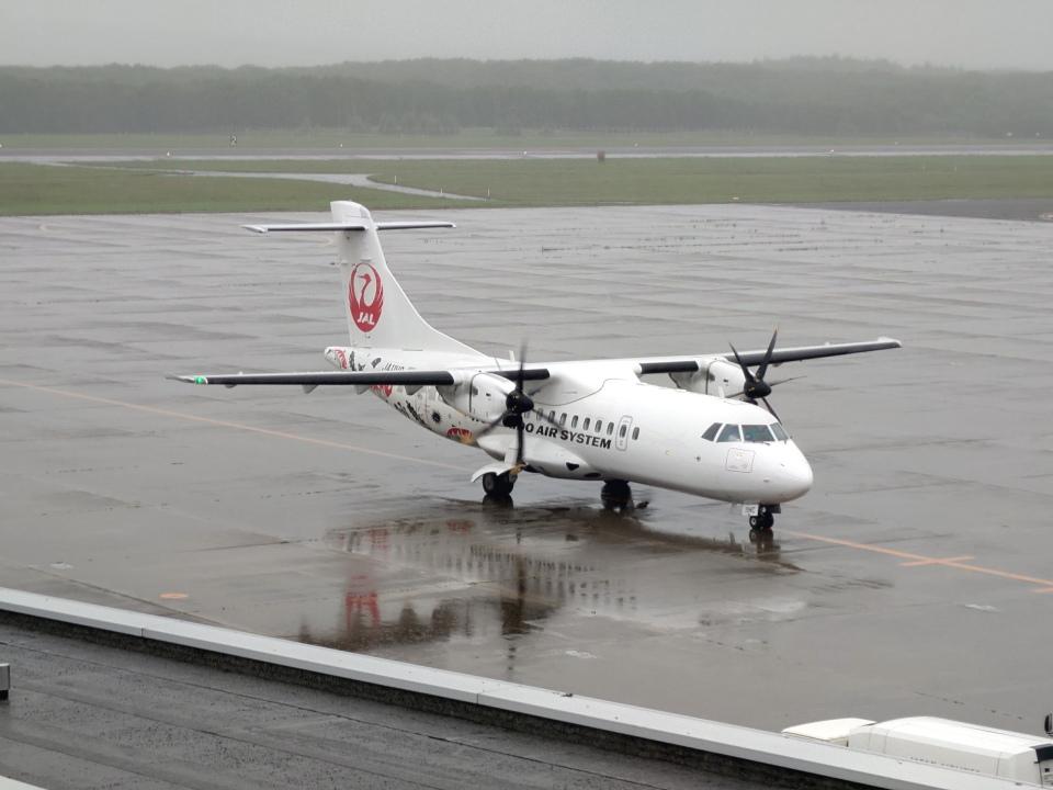 さとさとさんの北海道エアシステム ATR 42 (JA11HC) 航空フォト