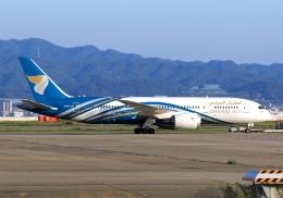 LOTUSさんが、関西国際空港で撮影したオマーン航空 787-8 Dreamlinerの航空フォト(飛行機 写真・画像)