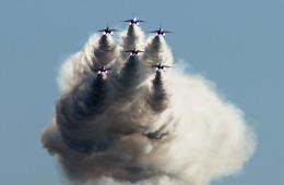 がいなやつさんが、新田原基地で撮影した航空自衛隊 T-4の航空フォト(飛行機 写真・画像)