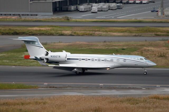 フッ軽の極美さんが、羽田空港で撮影したアメリカ個人所有 G650ER (G-VI)の航空フォト(飛行機 写真・画像)